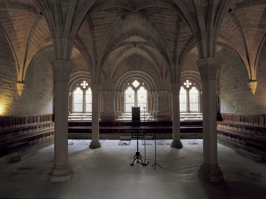 Chapter house of the Royal Monastery of Santa Maria de Poblet.