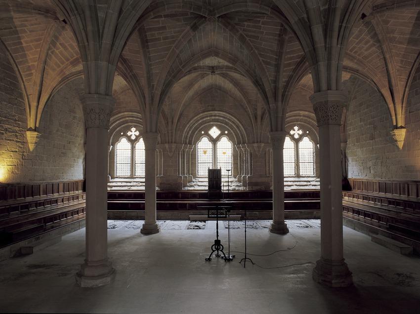 Sala capitular del Reial Monestir de Santa Maria de Poblet  (Imagen M.A.S.)