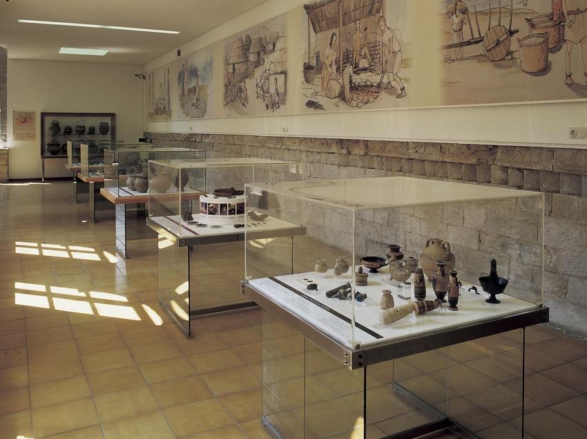 Salas superiores del Museo de Arqueología de Catalunya-Girona.  (Imagen M.A.S.)