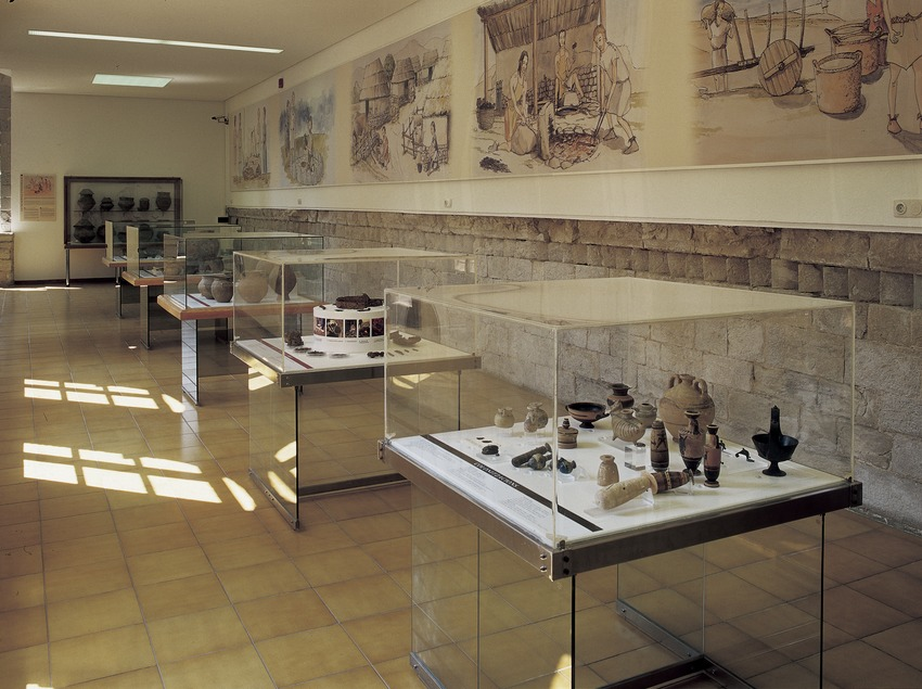Upper rooms in the Archaeology Museum of Catalonia-Girona.  (Imagen M.A.S.)