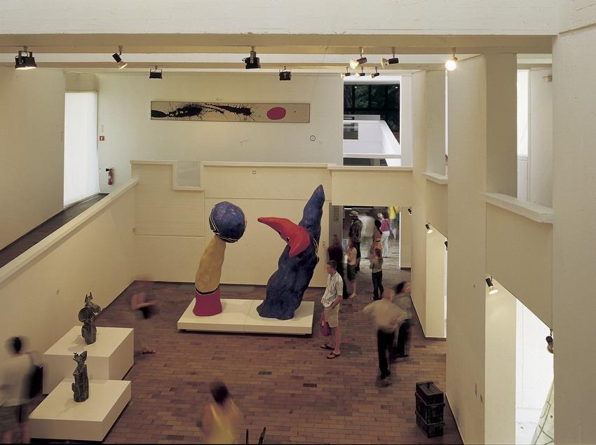 Sala de la Fundació Joan Miró.  (Imagen M.A.S.)