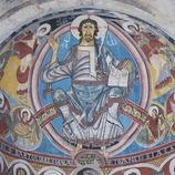 Pantocrátor (siglo XII) de Sant Climent de Taüll.