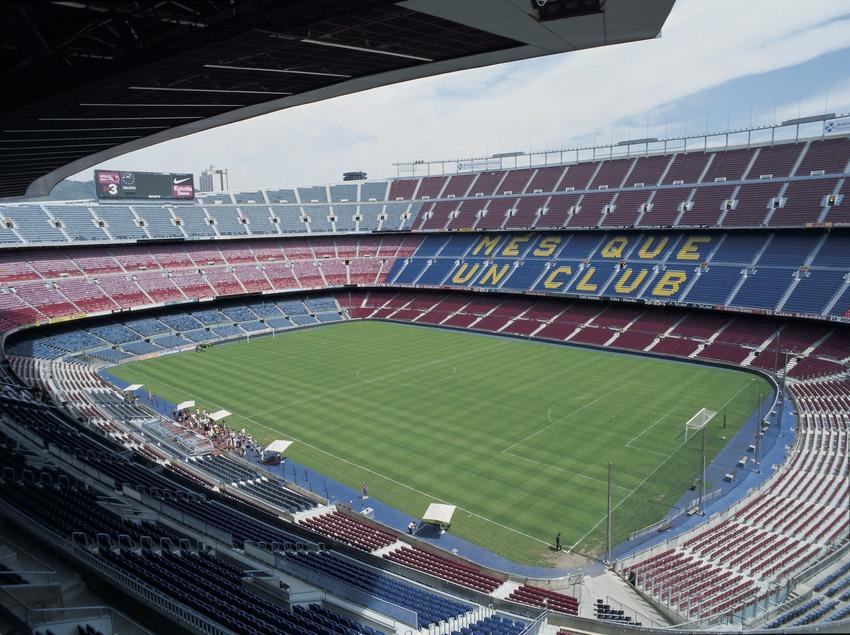 Camp Nou. Stadium des Fußballklubs Barcelona.