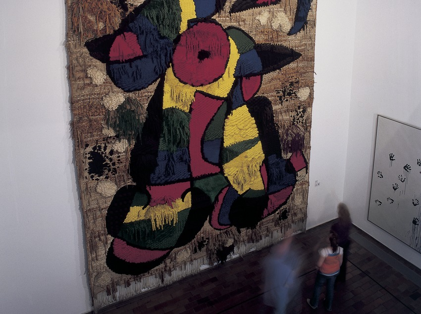 The Foundation tapestry (1979). Joan Miró Foundation.  (Imagen M.A.S.)