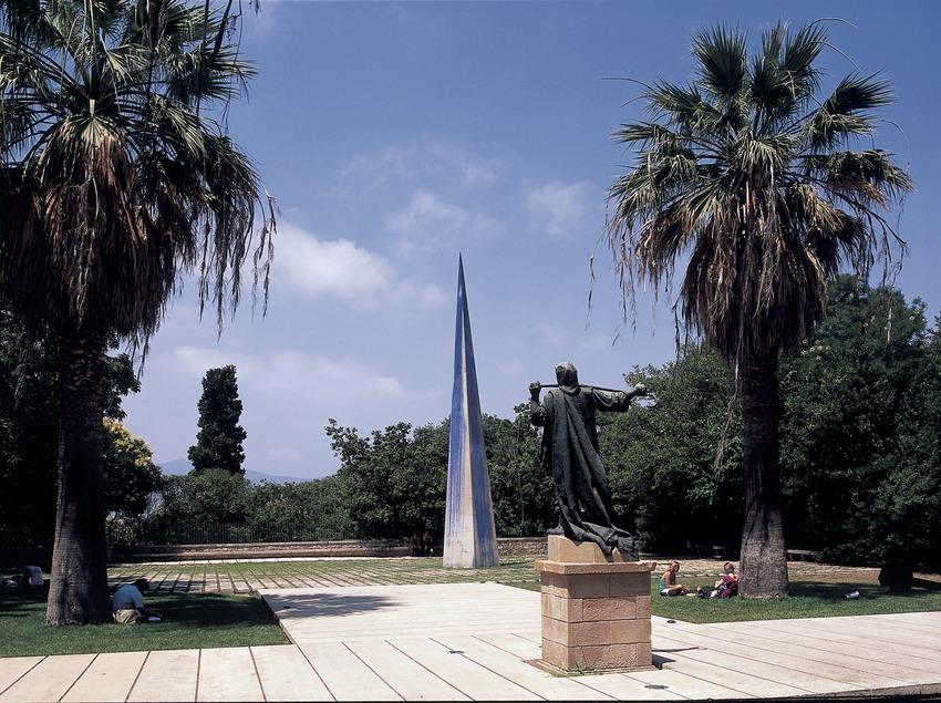 Jardins de la Fundació Joan Miró.  (Imagen M.A.S.)