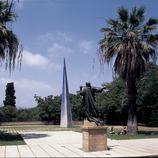 Jardines de la Fundació Joan Miró.