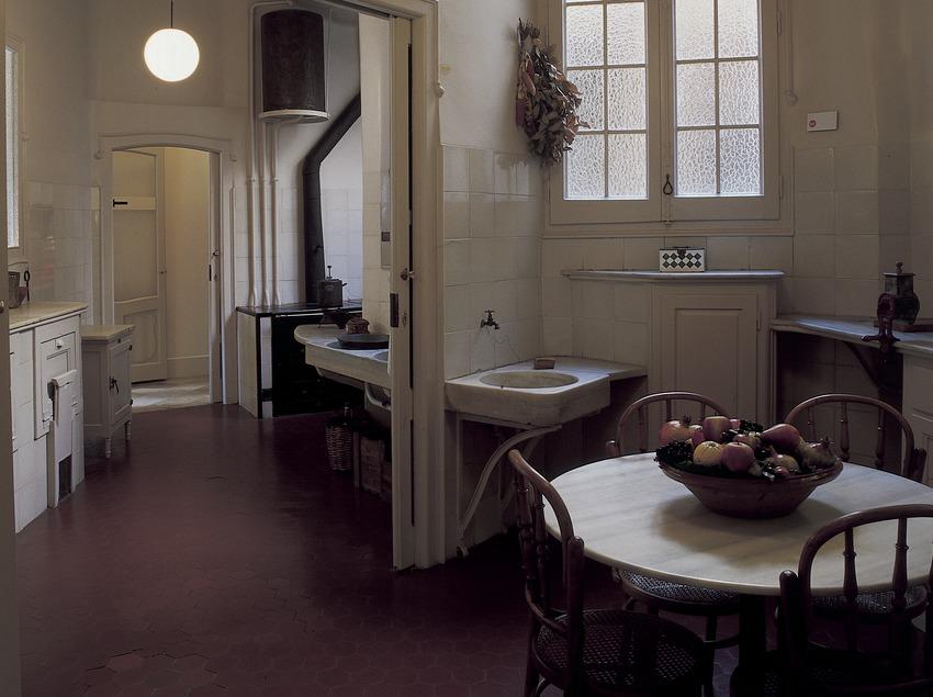 Cuina de la Casa Milà, La Pedrera. (Imagen M.A.S.)