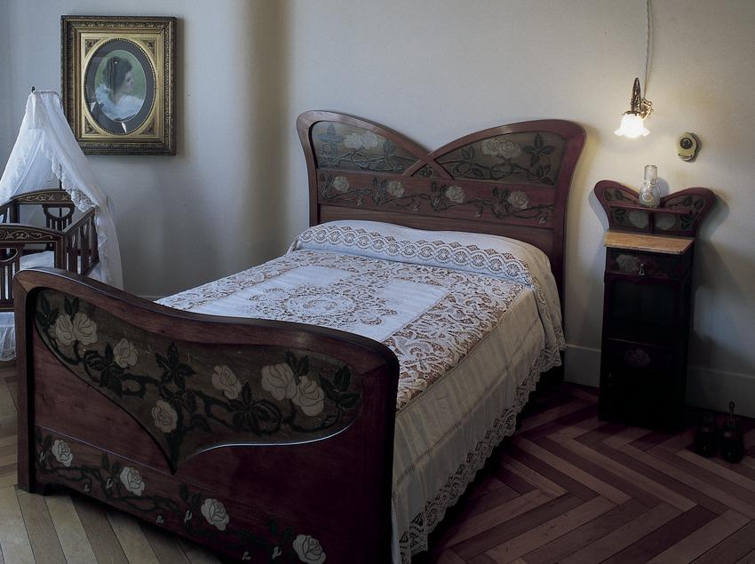 Dormitori de la Casa Milà, La Pedrera. (Imagen M.A.S.)