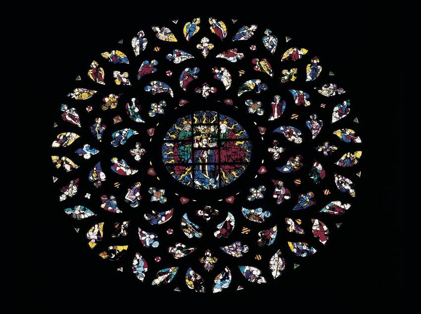 Rosetón de Santa Maria del Mar. (Imagen M.A.S.)