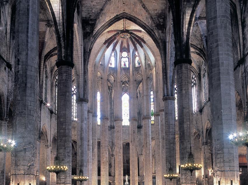 Nau central de Santa Maria del Mar. (Imagen M.A.S.)