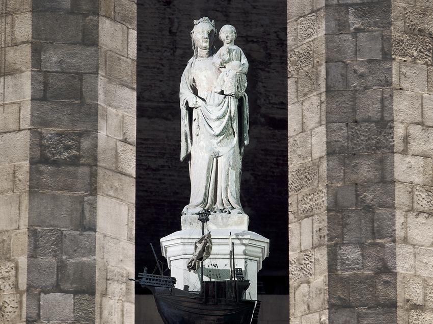 Verge de Santa Maria del Mar. (Imagen M.A.S.)