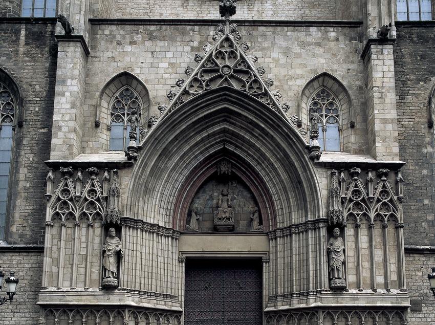 Portalada de Santa María del Mar. (Imagen M.A.S.)