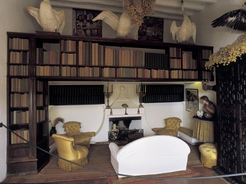 Biblioteca de la Casa-Museu Salvador Dalí de Portlligat  (Imagen M.A.S.)