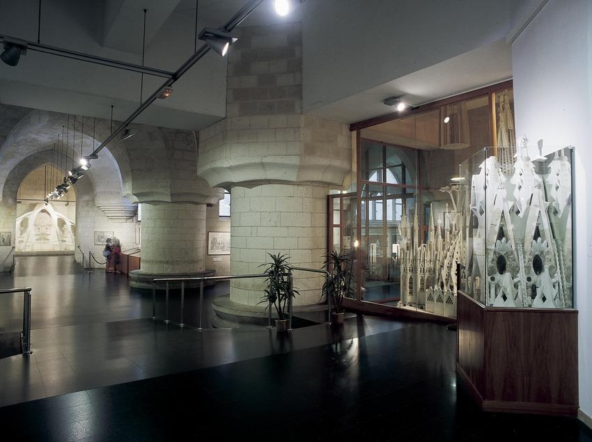 Зал музея Искупительного храма Святого Семейства. (Imagen M.A.S.)