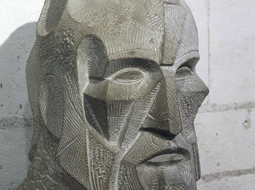 Bust d'Antoni Gaudí. Museu del Temple Expiatori de la Sagrada Família. (Imagen M.A.S.)