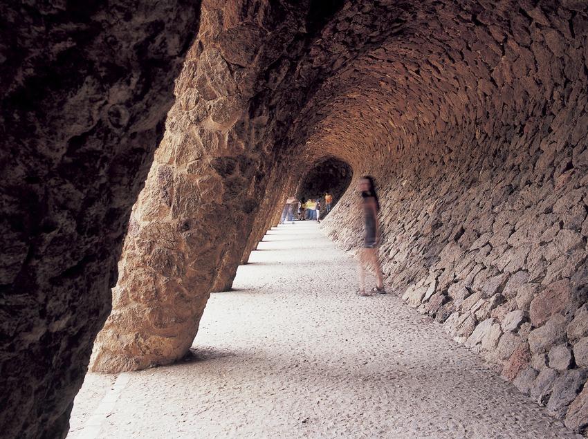 Viaducto de la Bugadera (la lavandera). Park Güell.