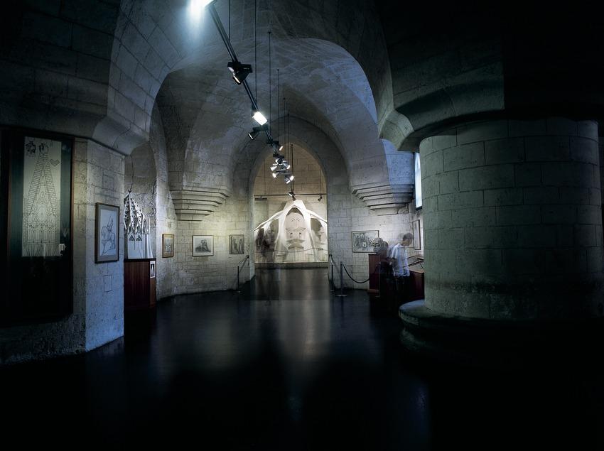 Sala del Museu del Temple Expiatori de la Sagrada Família. (Imagen M.A.S.)