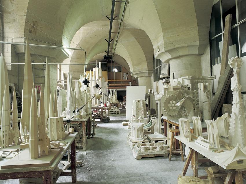 Maquetas en el Museo del Templo Expiatorio de la Sagrada Familia. (Imagen M.A.S.)