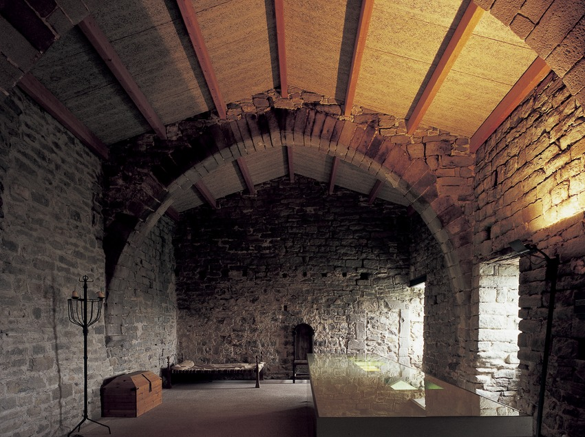 Dormitori del Monestir de Sant Pere de Casserres (Imagen M.A.S.)