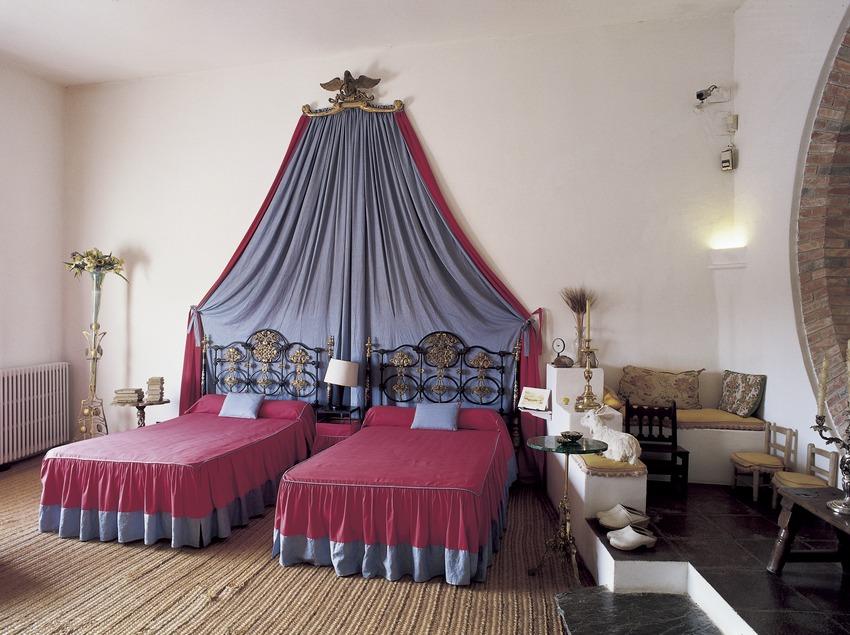 Dormitori de Gala i Dalí de la Casa-Museu Salvador Dalí de Portlligat  (Imagen M.A.S.)