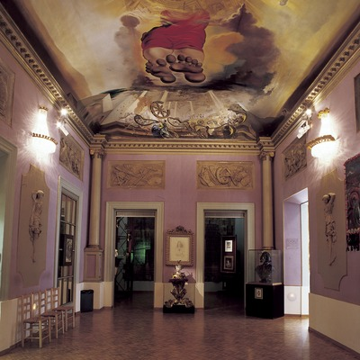 Palace of the Wind room in the Dalí Theatre-Museum.  (Imagen M.A.S.)
