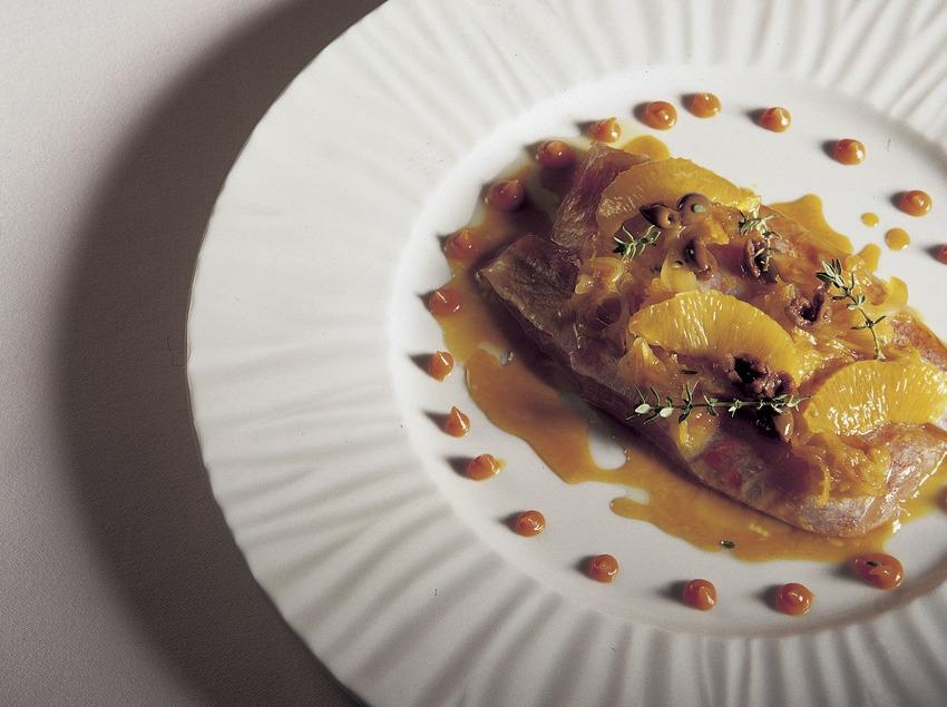 Molls elaborats a la cuina del restaurant Jean Luc Figueras.