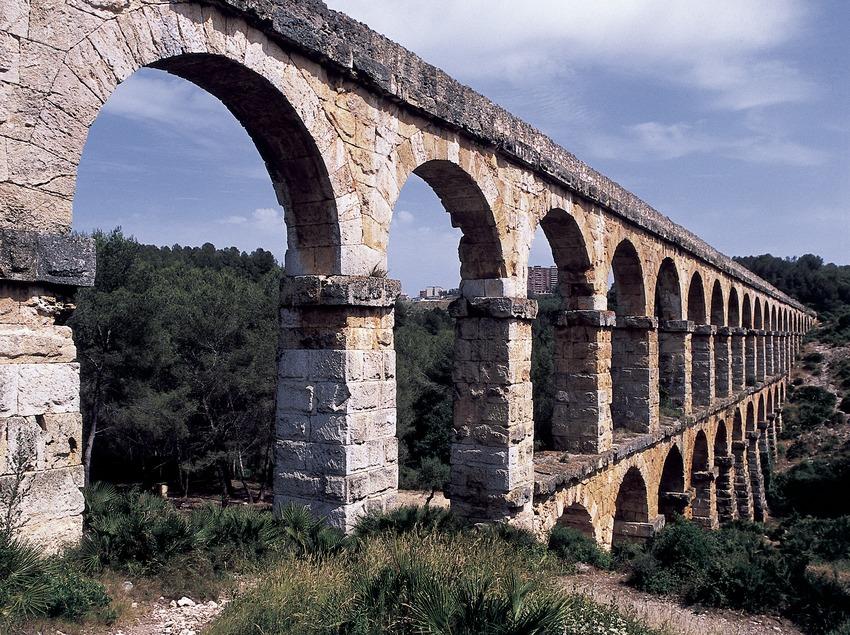 Aqüeducte romà de les Ferreres o Pont del Diable.  (Imagen M.A.S.)