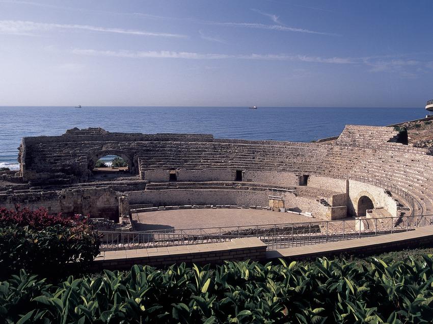 Amphithéâtre romain.