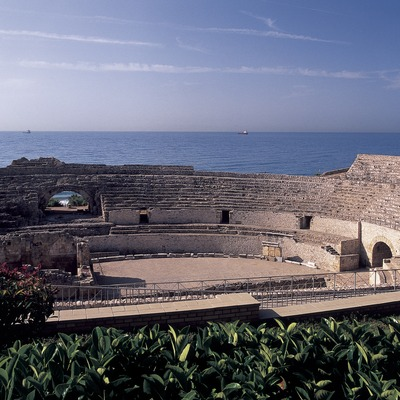 Roman amphitheatre.