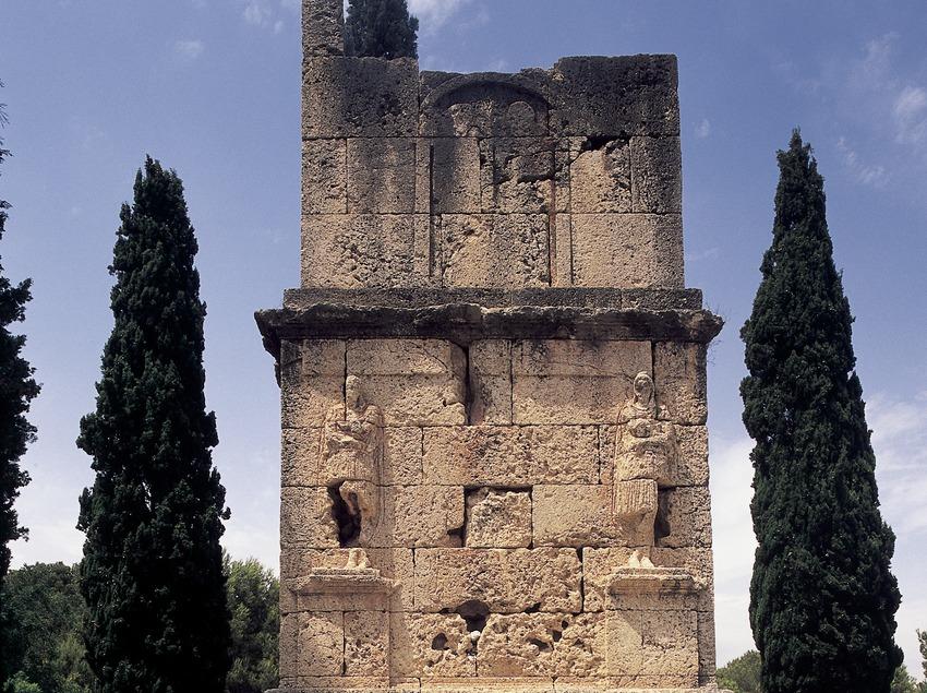 Torre dels Escipions (segle I d.C.).  (Imagen M.A.S.)