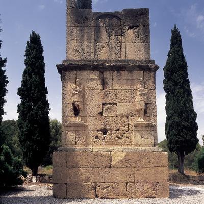 Torre de los Escipiones (siglo I d.C.).  (Imagen M.A.S.)