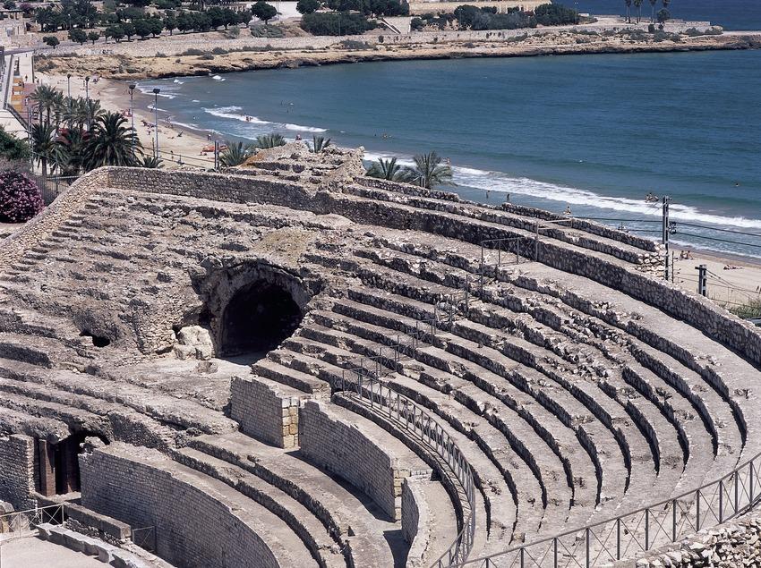 Amfiteatre romà.  (Imagen M.A.S.)