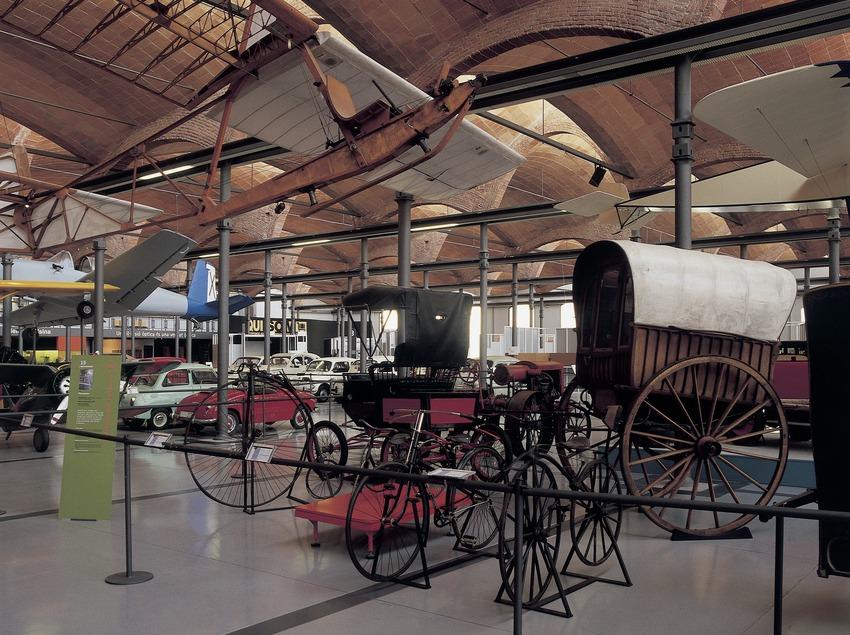 Carruatges del Museu de la Ciència i de la Tècnica de Catalunya (MNACTEC).  (Imagen M.A.S.)
