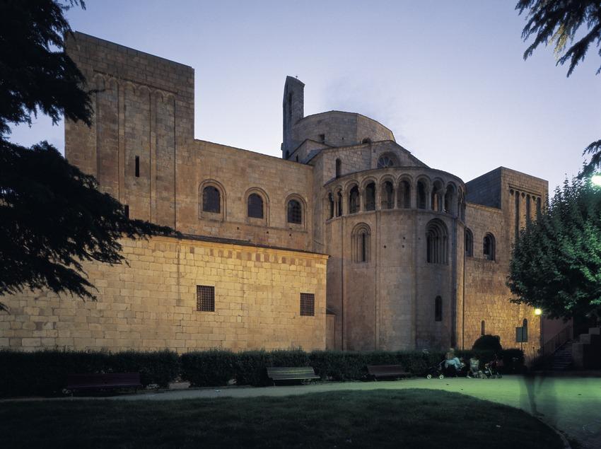 Absis de la catedral de Santa Maria d'Urgell.  (Imagen M.A.S.)