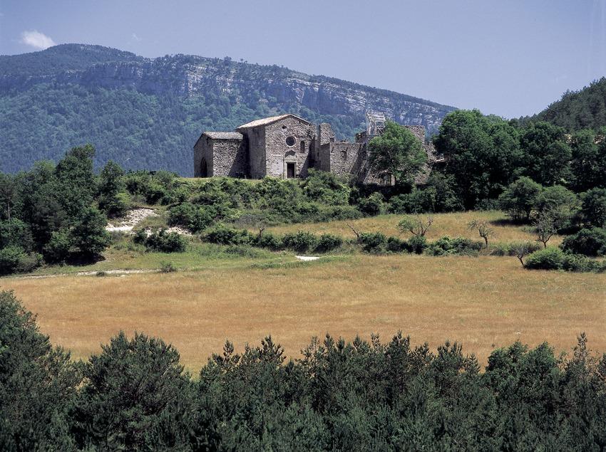Monasterio de Santa Maria de Lillet  (Imagen M.A.S.)
