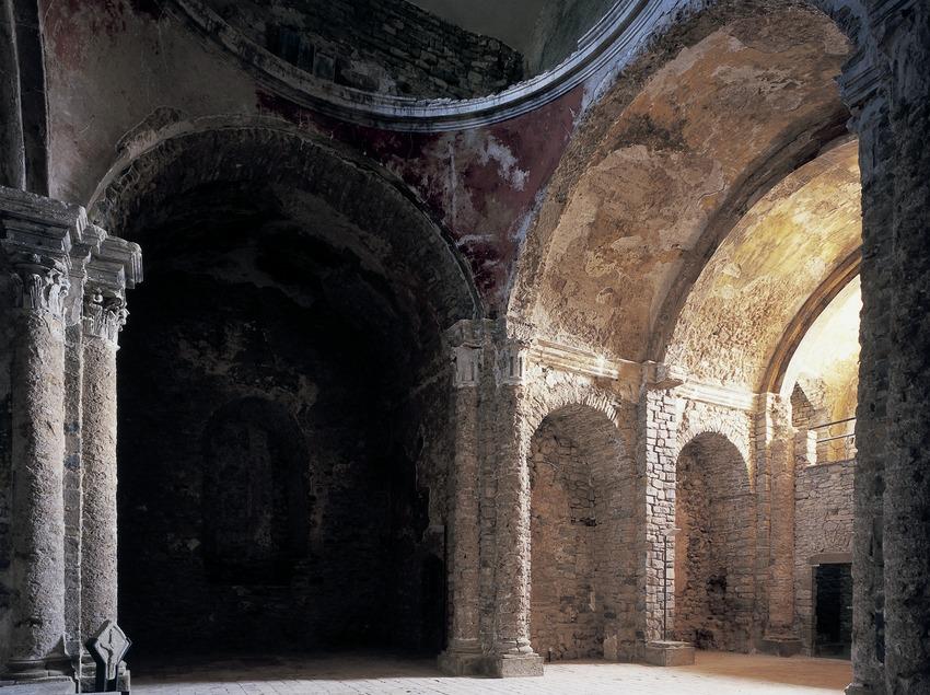 Eglise du monastère royal Santa Maria de Lillet  (Imagen M.A.S.)