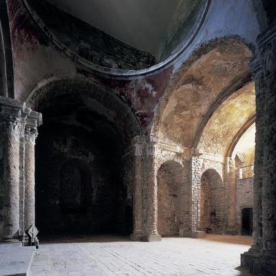 Iglesia del monasterio de Santa Maria de Lillet  (Imagen M.A.S.)