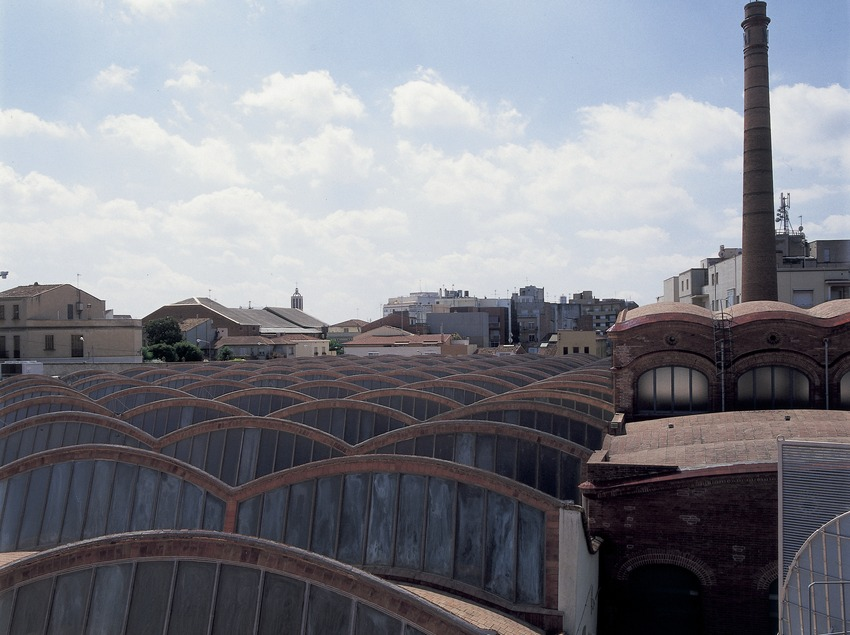 Tejado del Museo de la Ciencia y de la Técnica de Catalunya (MNACTEC).  (Imagen M.A.S.)