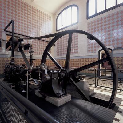 Máquina de vapor del Museo de la Ciencia y de la Técnica de Catalunya (MNACTEC).  (Imagen M.A.S.)