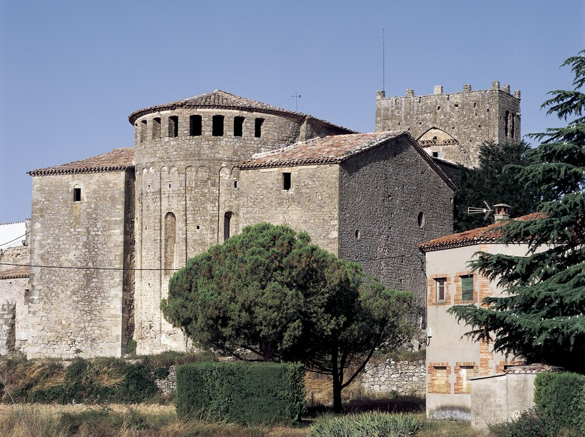Monasterio de Santa Maria de Serrateix.  (Imagen M.A.S.)