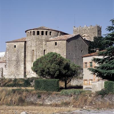 Das Kloster Santa Maria de Serrateix.