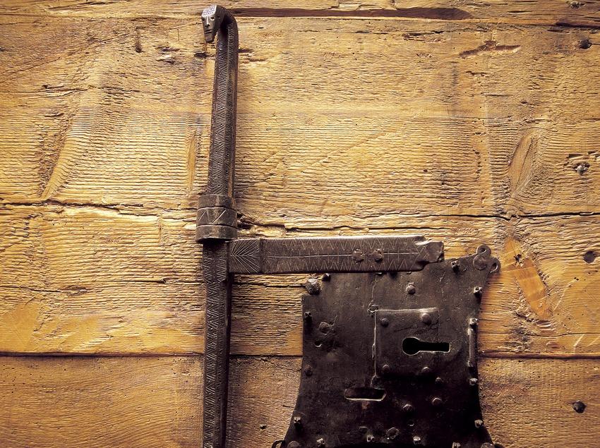 Forrellat de l'església de Santa Maria de Cardet.  (Imagen M.A.S.)