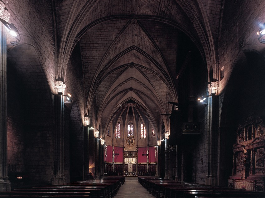 Nave central de la catedral  (Imagen M.A.S.)