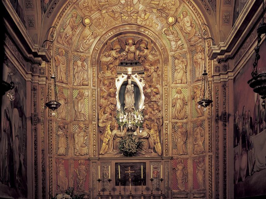 Capella de la Verge del Claustre. Catedral de Santa Maria  (Imagen M.A.S.)