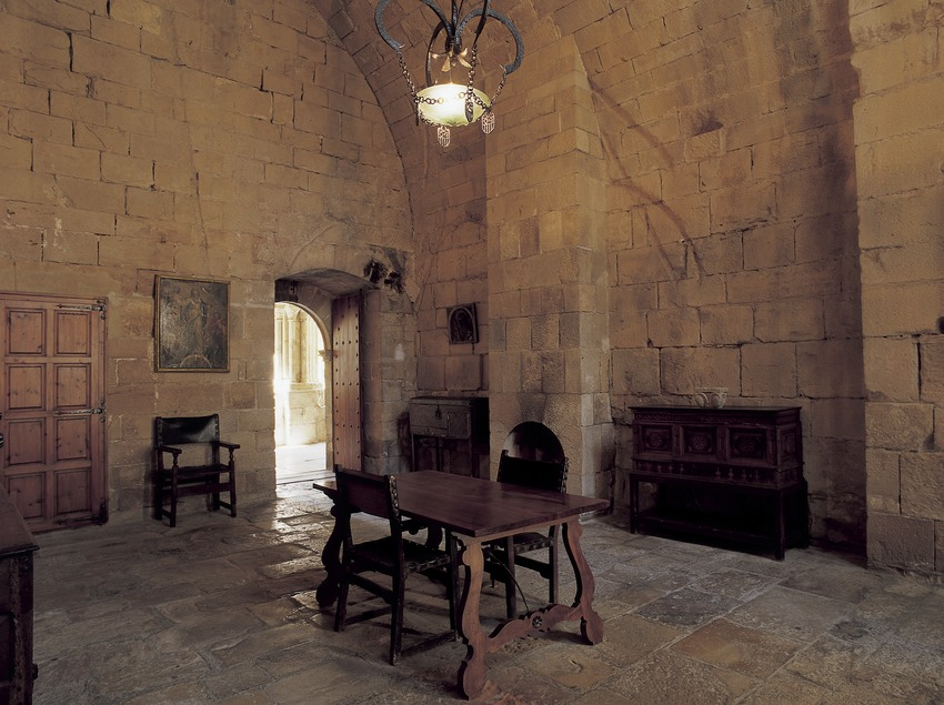 Room of the Royal Monastery of Santa Maria de Poblet