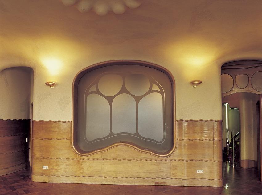 Sala de la Casa Batlló d'Antoni Gaudí.  (Imagen M.A.S.)