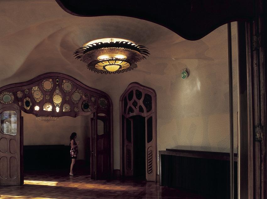 Salón principal de la Casa Batlló de Antoni Gaudí.  (Imagen M.A.S.)