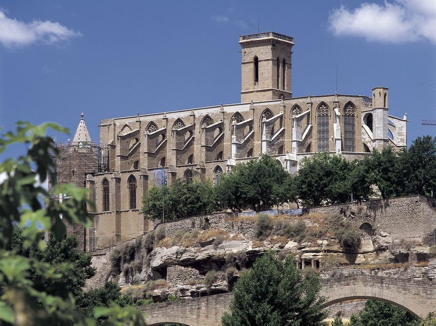Basilique de Santa Maria de La Seu.  (Imagen M.A.S.)