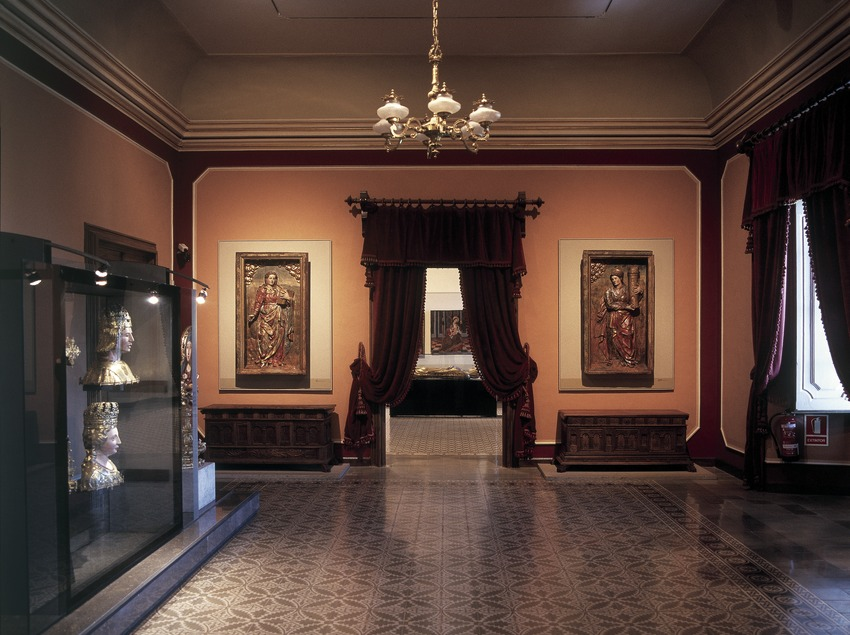 Sala d'art renaixentista i barroc. Museu Diocesà i Comarcal de Solsona.  (Imagen M.A.S.)