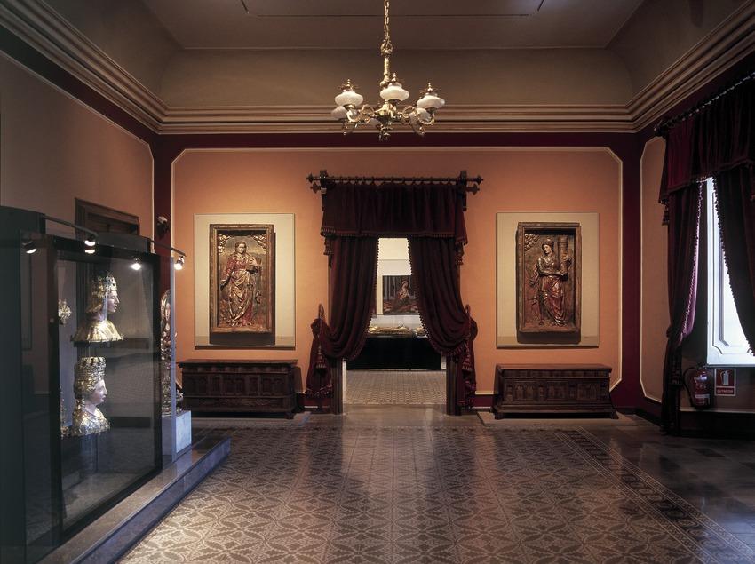 Sala de arte renacentista y barroco. Museo Diocesano y Comarcal de Solsona.  (Imagen M.A.S.)